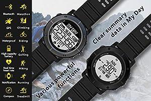 OOLIFENG GPS para Ciclismo Velocímetros, Reloj Running con GPS con ...