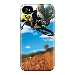 Shock-Absorbing Hard Phone Cover For Iphone 6 (Iif4965lvhI) Customized Attractive Motocross Series