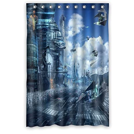 Scottshop Custom Star Wars Shower Curtain High Quality Waterproof Polyester Fabric Bathroom Curtains 48quot