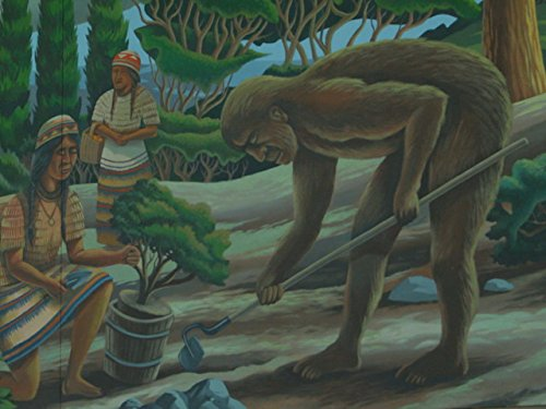 Forest Monsters: Hodag and Bigfoot