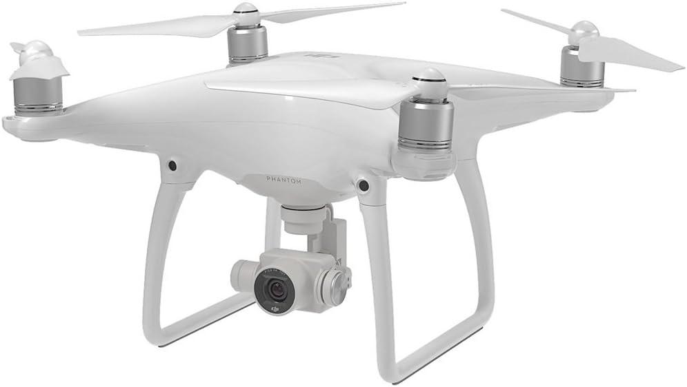 DJI Phantom 4 - Dron cuadricóptero con Control Remoto y cámara HD, Blanco
