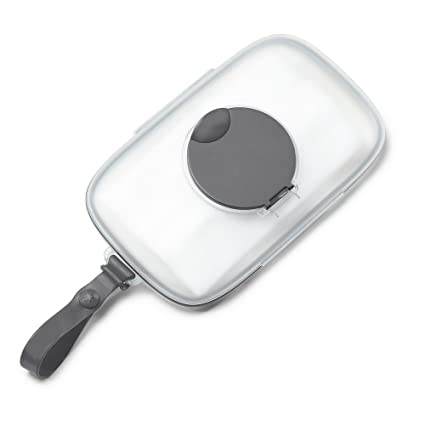 Skip Hop Grab And Go Snug Seal Lingettes Coque, Grey by Amazon