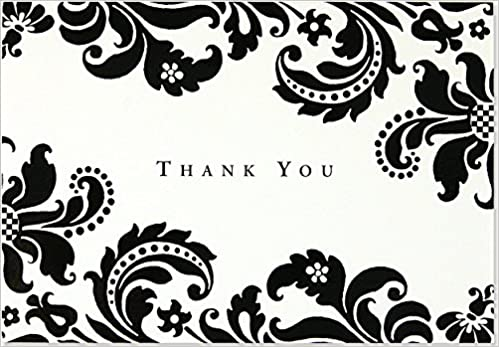 Amazon In Buy Thank You Notes Shadow Tapestry Note Card Series