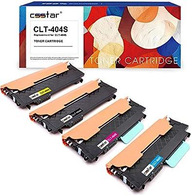 CSSTAR Compatible Cartuchos de Tóner Reemplazo para Samsung CLT ...