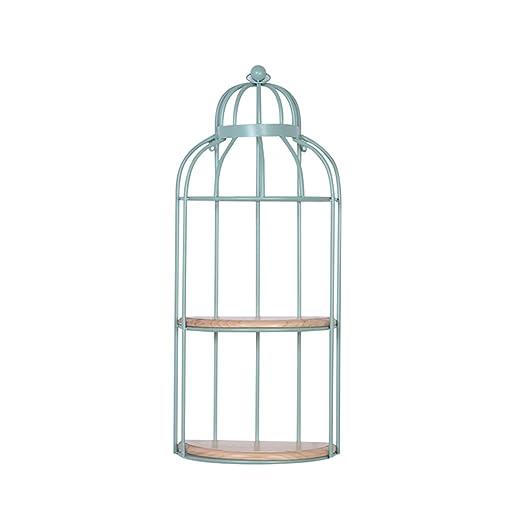 CSQ Estante de pared colgante, jaula de pájaros Separador de ...