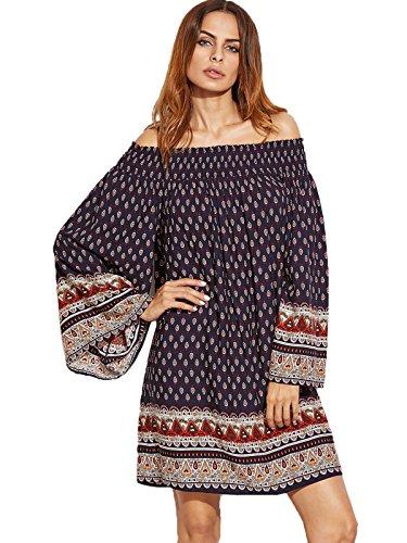 Milumia Womens Ornate Smocked Shoulder product image