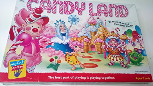 (Candyland; Be the First to Find the Candy Castle (2001) by Hasbro)