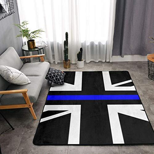 union jack rug black - 5