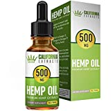 Hemp Oil for Pain Relief – Pure, Natural Ingredients – Seed Extraction – Encourages Stress Relief – Contains Heart Healthy Fatty Acids – 30 Day Supply – California Extracts For Sale