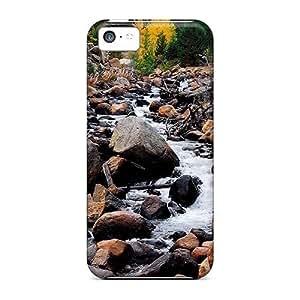 [xYzdKLf5785wghgL]premium Phone Case For Iphone 5c/ Running Water Tpu Case Cover