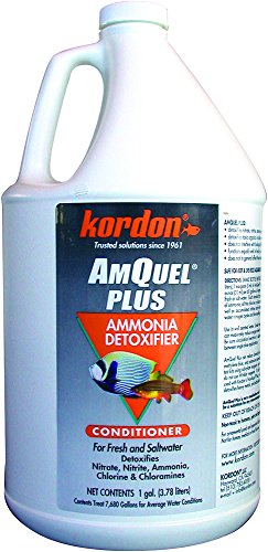 Image of Kordon  #33461 Amquel Plus- Ammonia Detoxifier for Aquarium, 1-Gallon