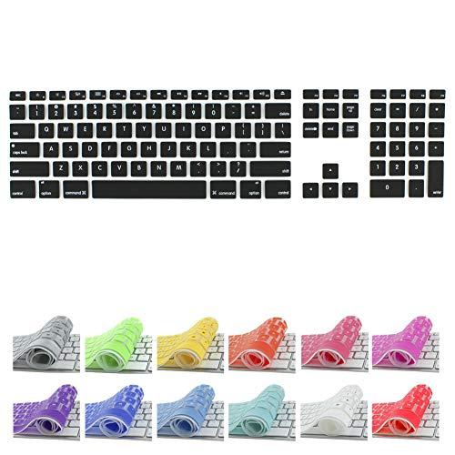 All-inside Black Keyboard Cover for iMac Wired USB Keyboard