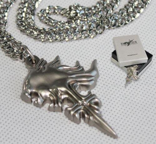 Final Fantasy VIII FF8 Squall Griever Necklace Lion Pendant