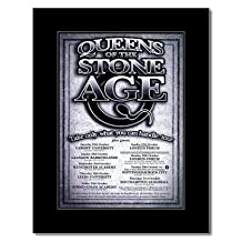 QUEENS OF THE STONE AGE - UK Tour 2002 Mini Poster - 28.5x21cm