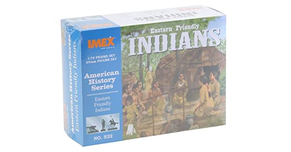 Amazon.com: Eastern Friendly Indians Set 1/72 Imex: Toys & Games