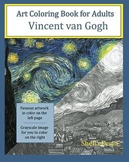 Color Your Own Van Gogh: Van Gogh Museum Amsterdam: 9780062436429 ...