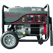 Milbank MPG60002 Storm Responder Portable Generator, 6,000 Watt