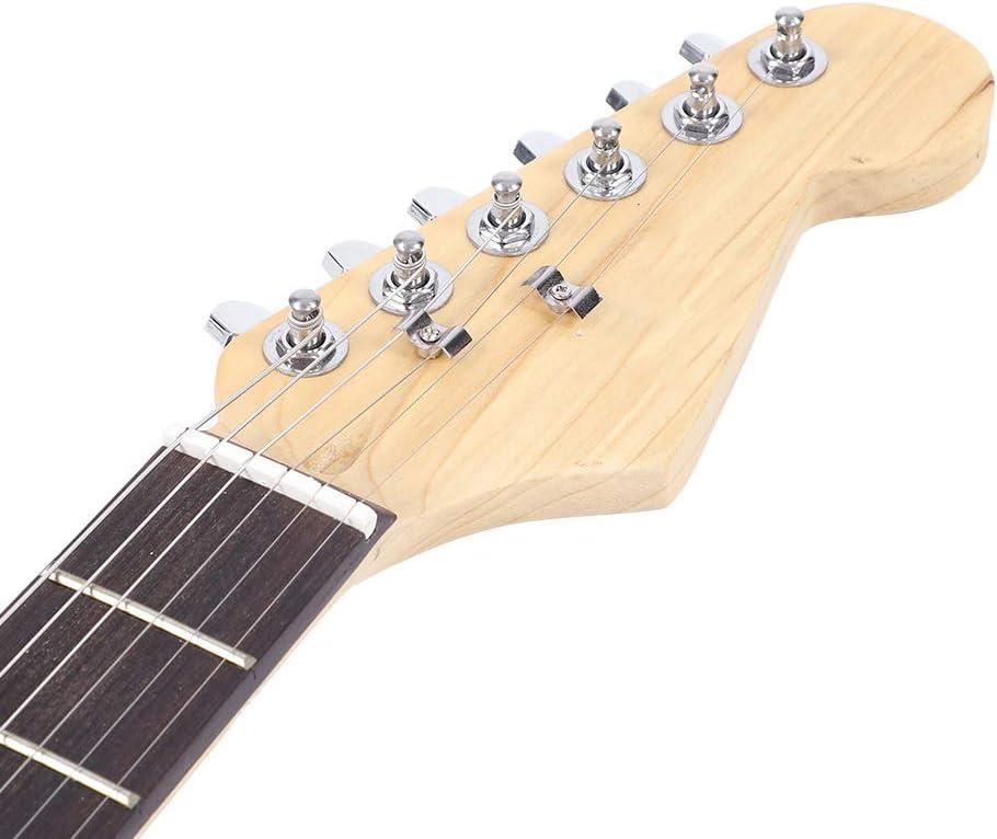 Guitarra eléctrica, 39 pulgadas Full Size Madera Maciza eléctrica ...