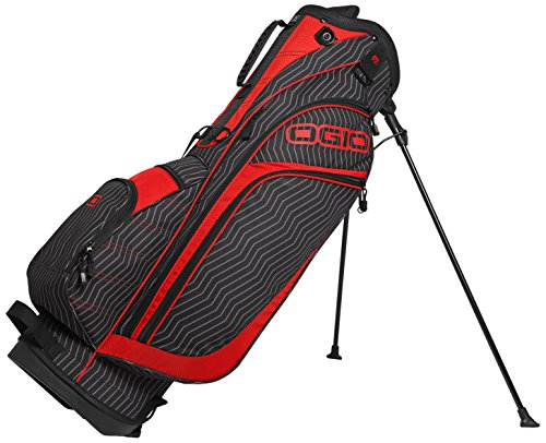 OGIO Press Stand Bag, Zigpin/Red