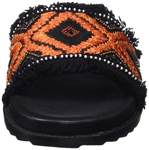 Gioseppo 45335, Sandalias con Plataforma Para Mujer Negro (Black)