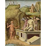 Perfect effect canvas ,the Vivid Art Decorative Prints on Canvas of oil painting 'Ercole de' Roberti The Dead Christ ', 20 x 26 inch / 51 x 66 cm is best for Home Theater artwork and Home artwork and Gifts