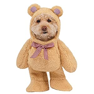 Walking Teddy Bear Dog Costume Large