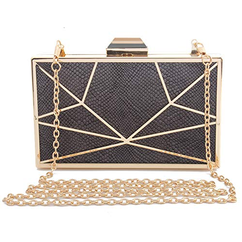 Hand Wedding Flannel Bridal Metal Evening Women's Party A Bag Bag Clutch Wallet Purse Made Framed IwxTqaTvB
