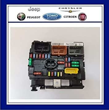 New Genuine Oe Engine Bay Fuse Box Bsm Fits 207 6500hw Amazon Co Uk Car Motorbike
