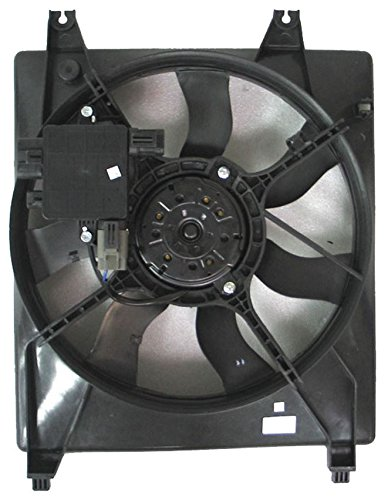Engine Cooling Fan Assembly - Cooling Direct For/Fit Ki3115119 06-10 Kia Sedona 3.8L English 07-08 Hyundai Entourage WITH Control Module