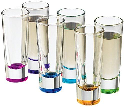 Limoncello Glasses (Libbey Troyano Colors Shot Glass Set, 6-Piece)