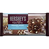 HERSHEY'S Kitchens Baking Pieces, Premier White Chips, Gluten Free, 12 Ounce Bag (Pack of 12)