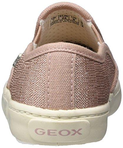Geox Jr Kilwi Girl, Zapatillas Niñas Rosa (Rose C8011)