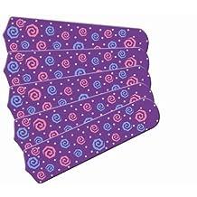 Ceiling Fan Designers 52SET-IMA-KPPP Kids Purple Party Pops 52 In. Ceiling Fan Blades Only