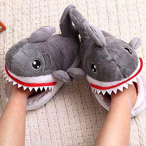 Casa 3d Squalo Sole Camera Novità Pantofole Caldo Letto Animale Resistant Ipotch Per Coppia 4wqHtqE