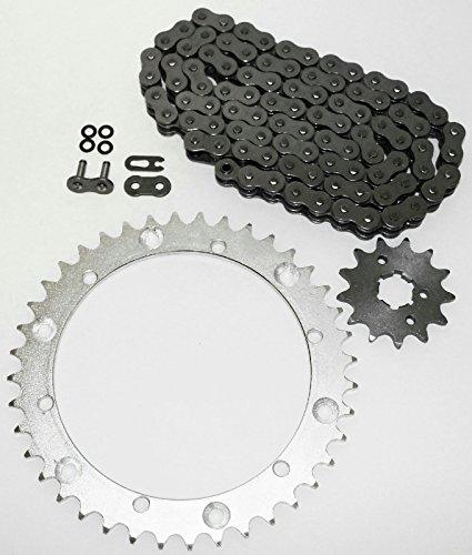 O Ring Chain & Sprocket Black 15/40 104L fits 1997-2000 Yamaha YFM 350 (Yamaha Motorcycles Warrior)