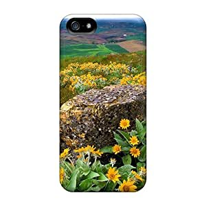 For HTC One M9 Phone Case Cover - Spring Rain Over Rural Fields Protective Cases Compatibel With For HTC One M9 Phone Case Cover