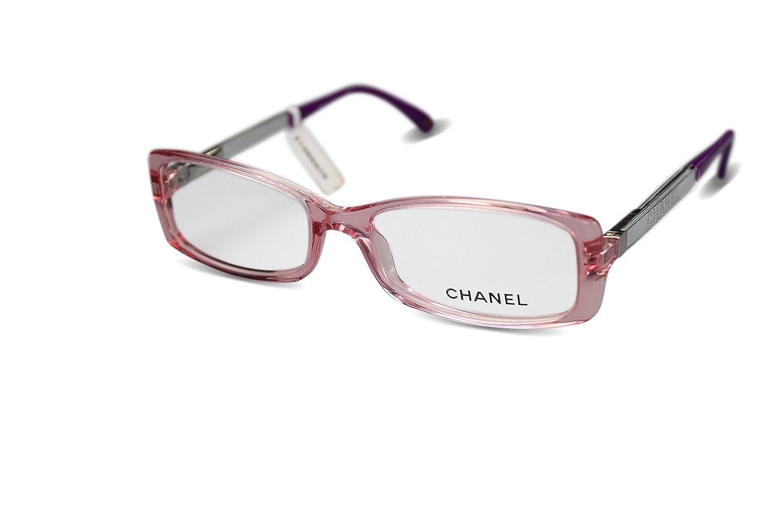 CHANEL Brille Brillenfassung Glasses für Frauen 3177 (Rosa): Amazon ...