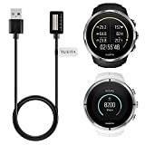 (US) Suunto Spartan Ultra /Spartan Ultra HR / Spartan Sport /Spartan Sport HR Charger (3.3ft) , TUSITA Replacement Megnetic USB Charger Charging Cable Cord Dock Data Sync Accessories For Suunto