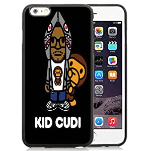 New Fashion Custom Designed Skin Case For iPhone 6 Plus 5.5 Inch With Kid Cudi Phone Case Cover