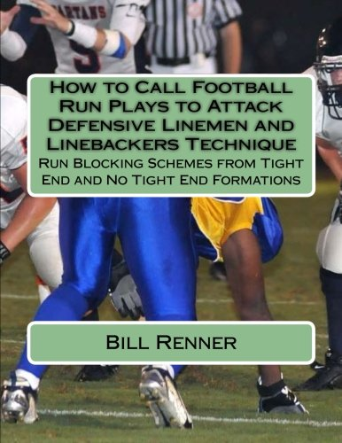 How To Call Football Run Plays To Attack Defensive Linemen And Linebackers Technique: Run Blocking Schemes From Tight End And No Tight End Formations