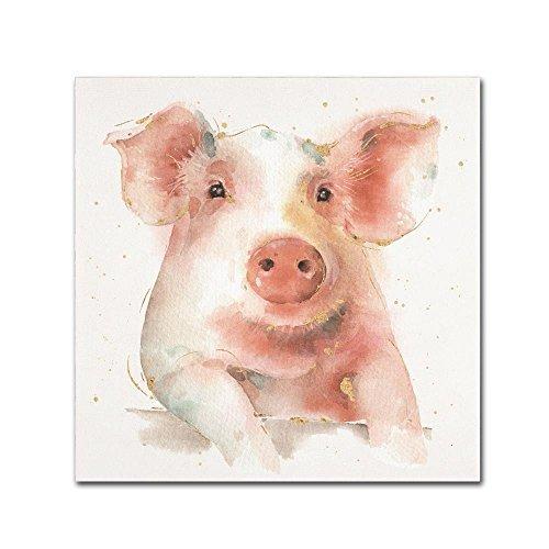 Farm Friends III by Lisa Audit, 18x18-Inch Canvas Wall Art