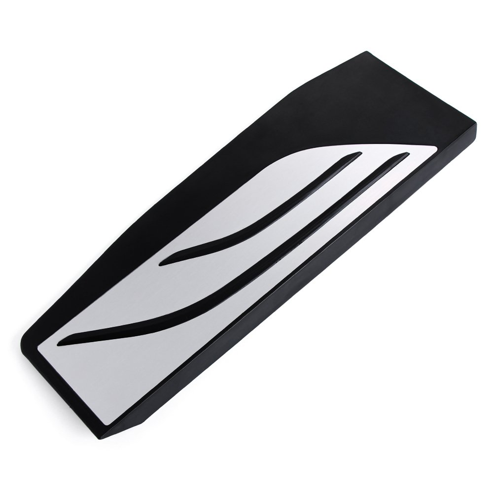 JessicaAlba Stainless Steel No Drill and Non Slip Footrest Pedal Pad Sticker for BMW F30 F31 316i 318d 320i F20 F21 3 Series