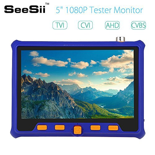 Best Buy! CCTV test monotor tester TVI CVI AHD Video Monitor CCTV Security Camera PTZ RS485 Control ...