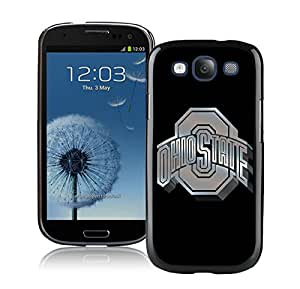 Samsung Galaxy S3 I9300 Case ,Unique And Fashionable Designed Case With Ncaa Big Ten Conference Football Ohio State Buckeyes 13 Black For Samsung Galaxy S3 I9300 Phone Case