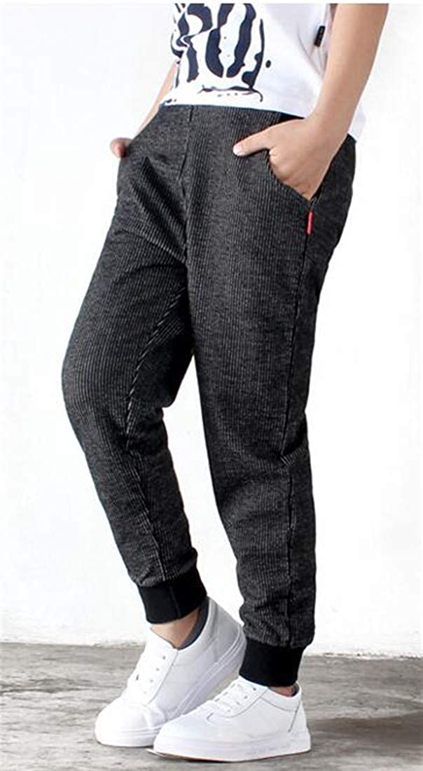 Sweatwater Boys Sweatpants Cute Jogger Cotton Sports Slim Pants