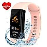 Fitness Tracker, Smart Watch with Color Screen, Activity Review and Comparison