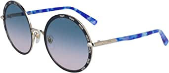 Sunglasses MCM 127 S 740 Shiny Gold/Blue