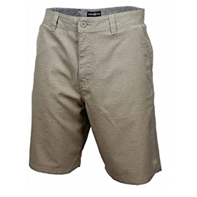 HangTen Men's Walker Shorts Khaki Perspective Size 36 at Amazon ...