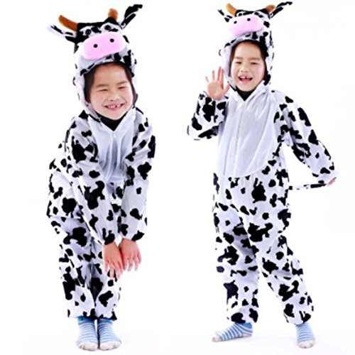YOWESHOP Children Party Costume Cartoon Animal Costume Funny Clothes Performance Kids Cosplay Costume (M(height 35.4