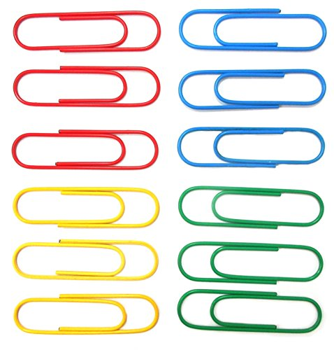4 inch paper clips - 5